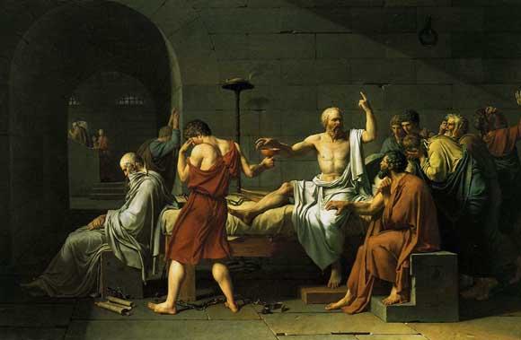 The Death of Socrates, Jacques-Louis David