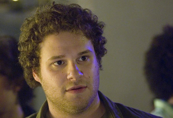 "Seth Rogen, in movie, ""Knocked Up"""