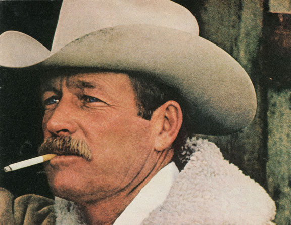 "Ad featuring the ""Marlboro Man"""