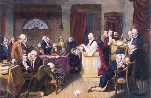 Prayer at the Constitutional Convention