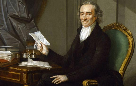 Thomas Paine, by Laurent Dabos
