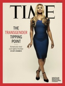 Time's June 9 cover, featuring Laverne Cox, the transgendered star ofOrange Is the New Black.