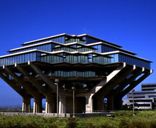 University of California Geisel Library – San Diego, USA
