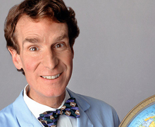 Bill Nye Tries to Prove Climate Change Exists. Yes, Seriously.
