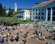Berkeley Campus, stock photo